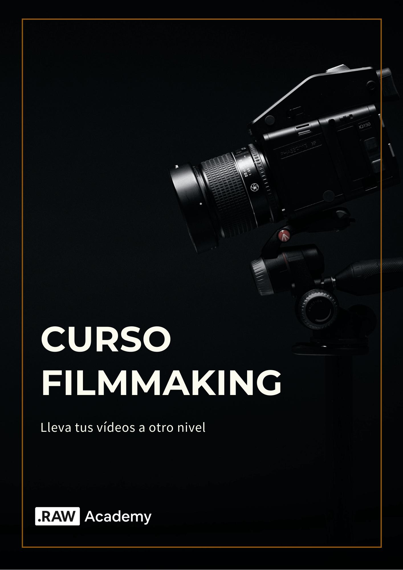 Curso Filmmaking RAW Academy
