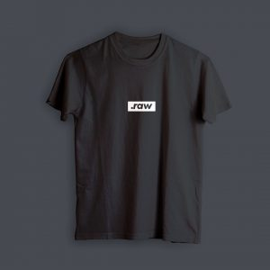 Camiseta Filmmaker .RAW (Negra)
